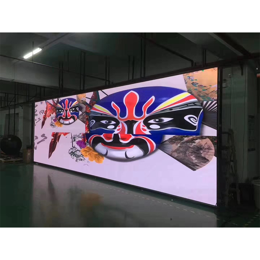 128*128dots High Resolution Indoor P3.91mm 500x500mm Rental Cabinet Full Color Led Didsplay Video Wall Screen For TV Stage