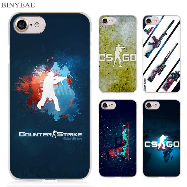 CSGO Clear Cell Phone Case Cover for Apple iPhone