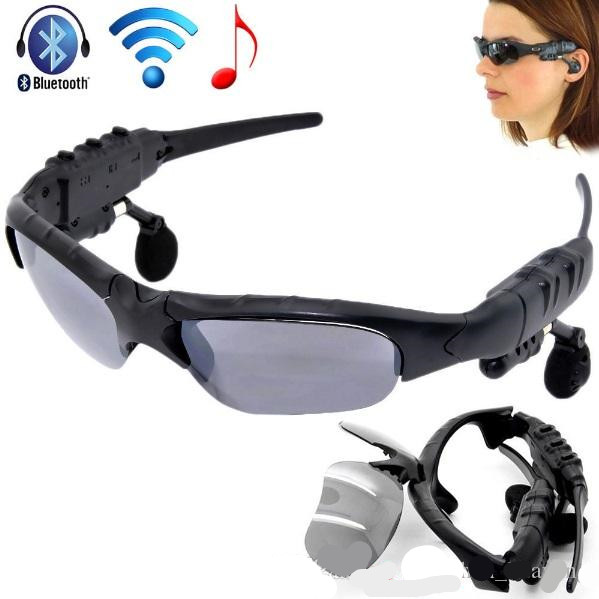 Driving Sun Glasses Bluetooth 4.1 Stereo Headset Sunglasses Wireless Handsfree With Mic&Music For Apple Samsung Any Mobile Phone цена и фото