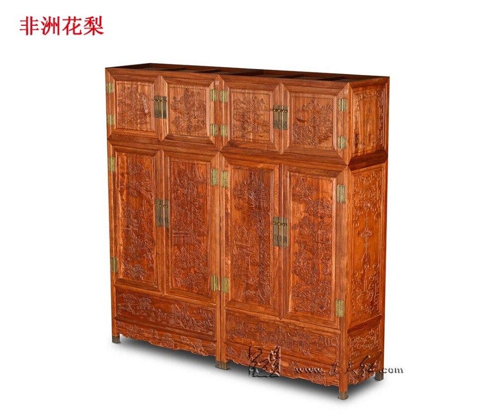 Nouvelle Clothespress Palissandre Carven Lit Chambre Meubles En  # Armoire Bois Massif