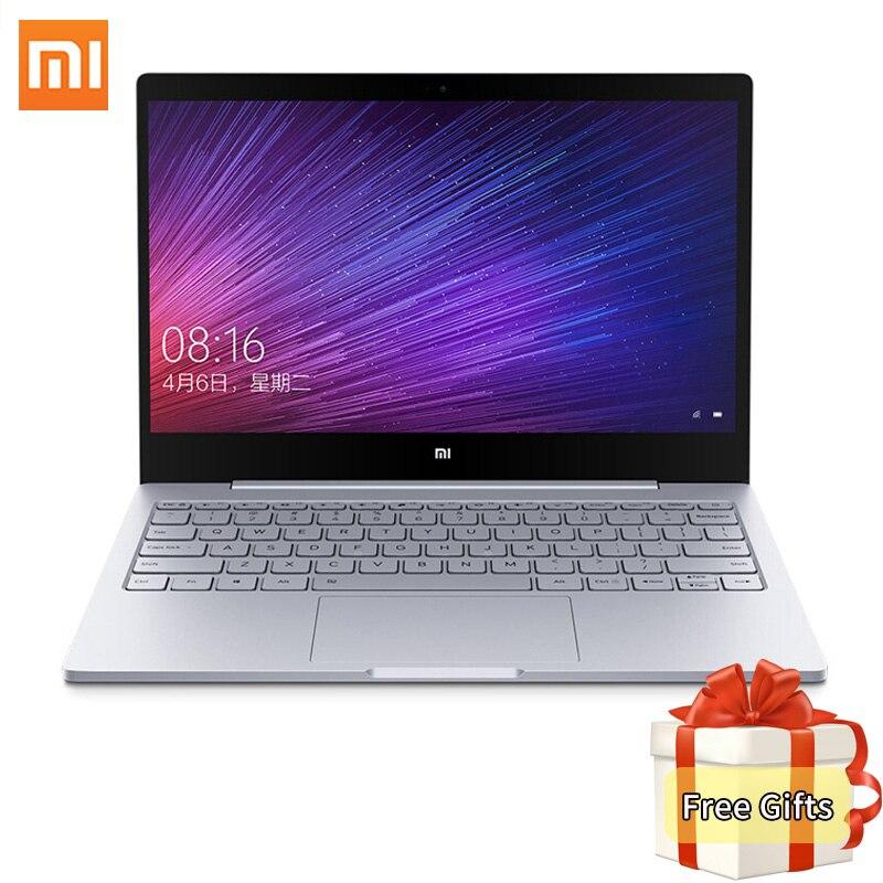 Original Xiaomi Mi Notebook Air 12.5 inch Intel Core M3-6Y30 CPU 4GB DDR3 RAM Windows 10 Dual Core Laptop SATA SSD Ultrabook