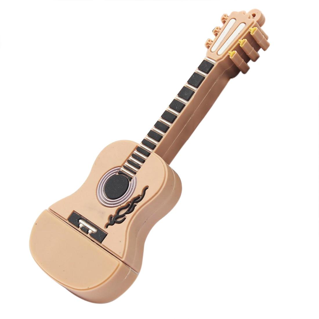 Guitar USB2.0 8GB Flash U disc brown