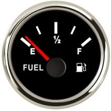 0-190ohm Автомобильный датчик уровня топлива, измеритель 240-33 Ом топлива Манометр индикатор для мотоциклов и автомобилей Грузовик Лодка морской масляный бак 12V 24V