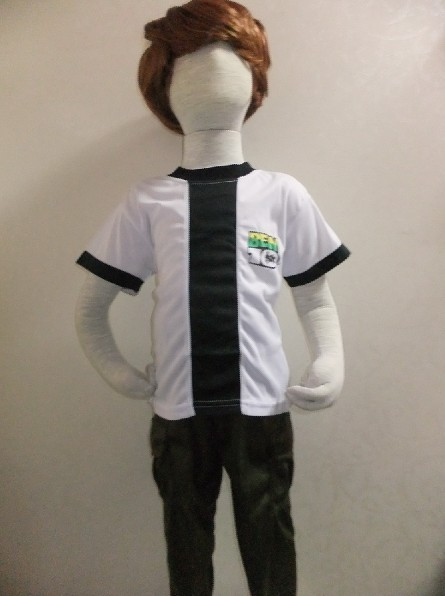 kid Cosplay Halloween Party Ben 10: Race Against Time clothing,Boy BEN-10 Role-playing clothing,Short sleeve T-shirt
