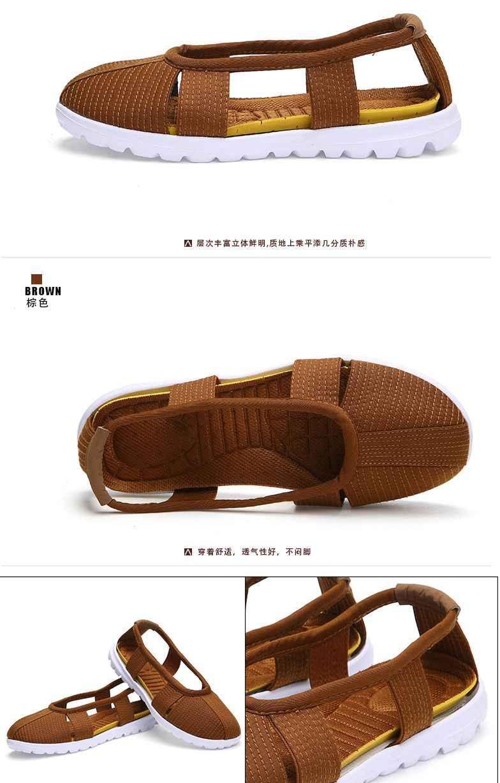 夏ユニセックス黒/グレー/ブラウン/イエロー仏教横たわっていた瞑想サンダル少林寺僧侶靴ローハン/羅漢カンフー婚姻芸術靴