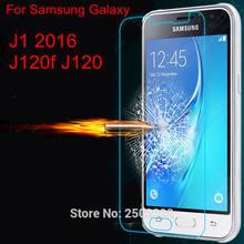 9 H Premium Vidro Temperado Film Protector de Ecrã para Samsung Galaxy J1 2016 J120F J120 SM-J120f Protetora À Prova de Explosão Guarda