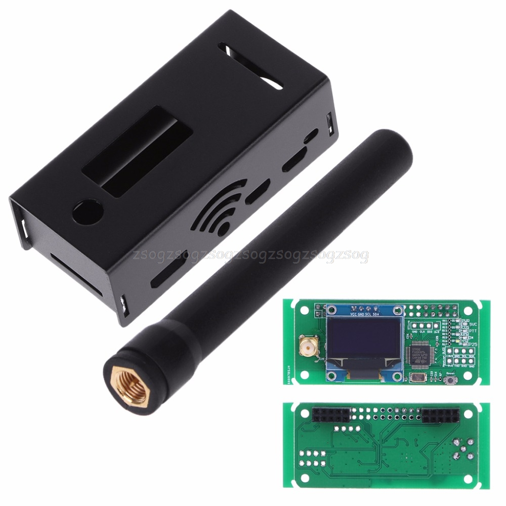 UHF/VHF MMDVM Hotspot OLED Antenna Shell Case Kit P25 DMR YSF For Raspberry Pi JUN23 dropshipping аквабокс aquapac small vhf classic case 228