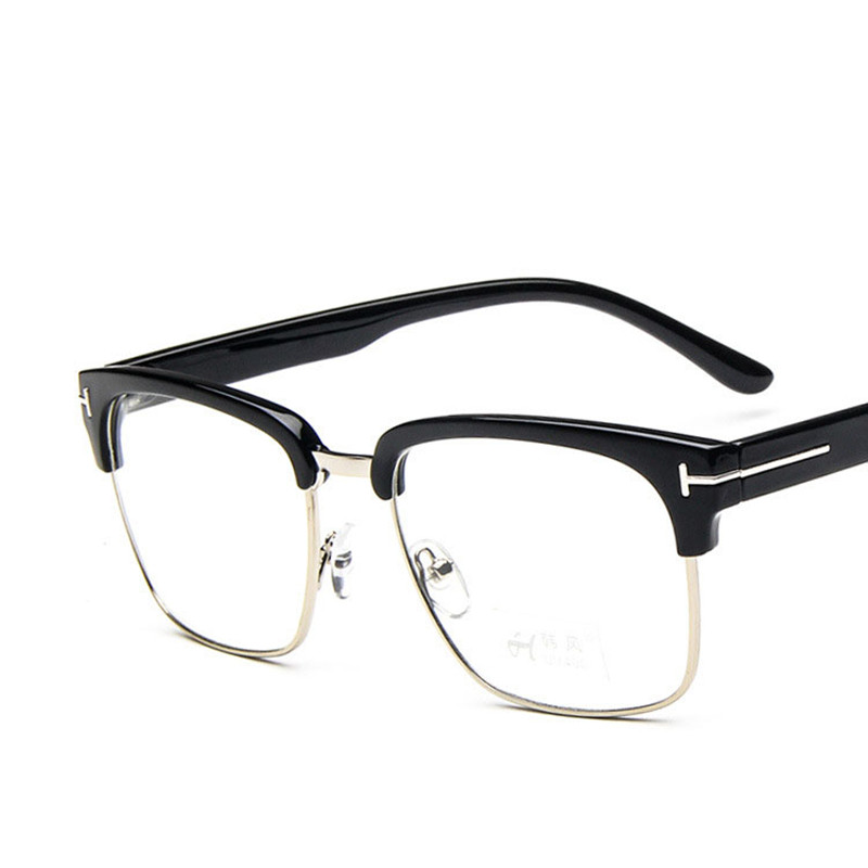 online shop classic square tf glasses frame men women myopia prescription clear lens glasses frames optical reading eyeglasses eyewear uv400 aliexpress