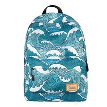 купить Quality Waterproof Nylon Printing Women Backpack Casual School Travel Rucksack Female Backpacks Book Bag for Teenage Girls Women дешево