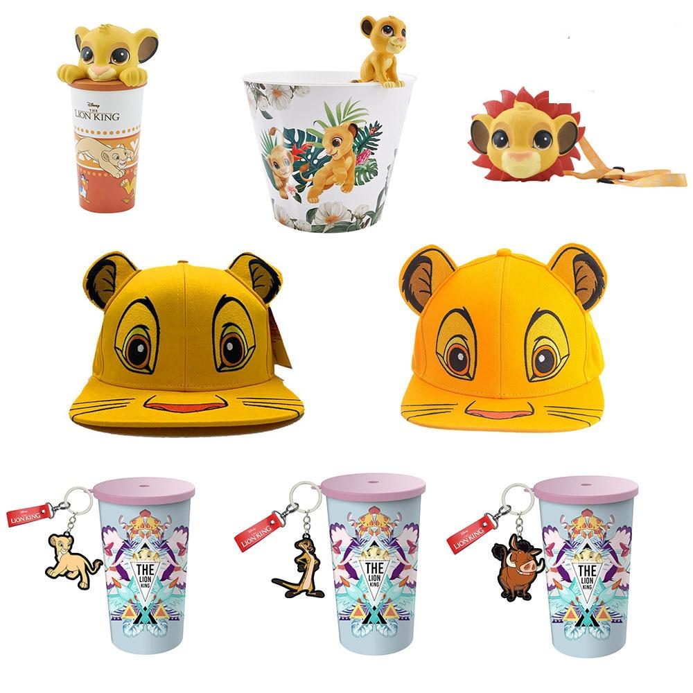 Cup-Toys King-Figure-Cap Popcorn Simba LION Anime Movie Gift Kids Children Barrel