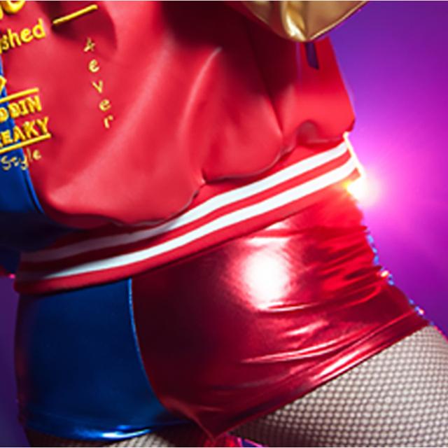 2016 New Harajuku Sudaderas Mujer Harley Quinn Suicide Squad Shorts Batman Movie Joker Arkham Game Disfraces Adulto