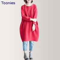 Newest 2018 Women Loose Cotton Linen Dress Large Size Fat MM Knee Length Long Sleeve Autumn