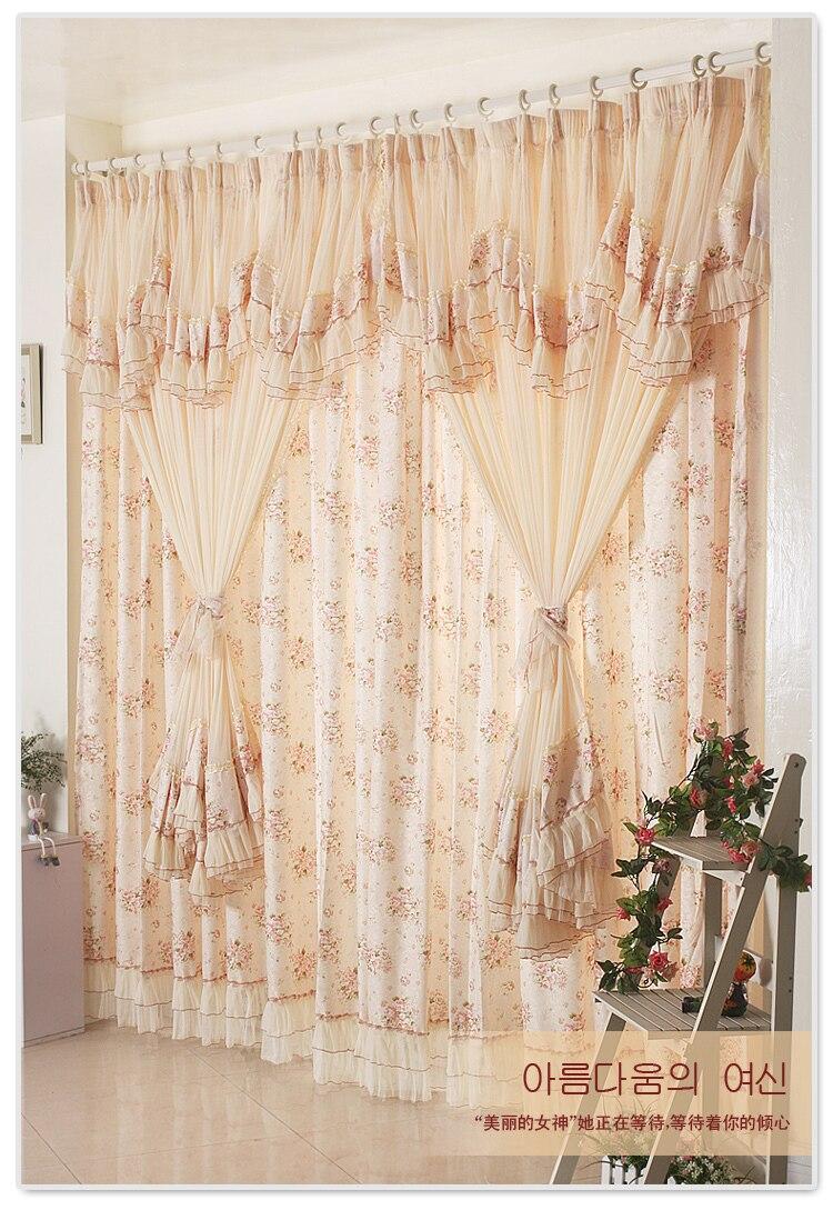Textile Goddess Custom Lace Curtains Ikea Korean Garden Princess Bedroom Curtains Dolma Wait Curtains Children Curtain Tracks And Polescurtain Black And White Aliexpress