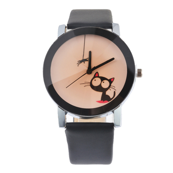 Lovely Pussy Cat Wrist Watch