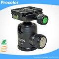 Câmera Tripé Bola de Cabeça Mini Hot Shoe Adapter para 3/8 do Parafuso de Montagem DSLR Acessórios Para Câmera Tripé Monopé