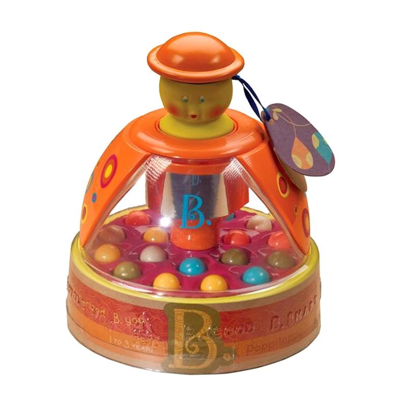 Cartoon Baby Toys Plastic Spinning Ball Educativo Poppitoppy Baby Toy - Juguetes para niños