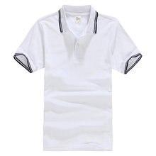 05d9b71fee531 Camiseta de manga corta de verano de 2018 para hombre de algodón informal  cuello vuelto sólido cómodo camiseta para hombre de 14.