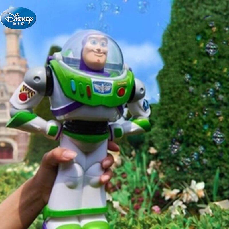 Enfants Buzz Lightyear dessin animé bulles souffleur Machine Disney voitures en plein air Fun Maker partie été en plein air partie jouet