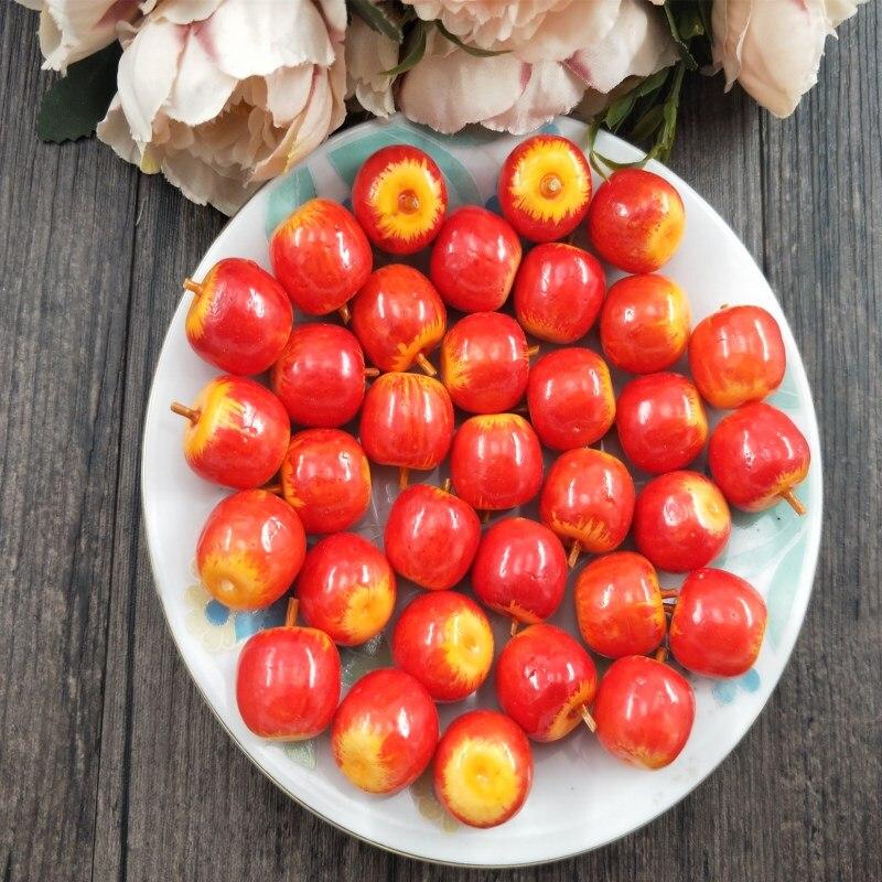 Искусственные фрукты яблока 10 шт Пластиковые Имитация Поддельные Маленькие искусственные пены мини Вечеринка кухня свадебное украшение|Искусственные фрукты|   | АлиЭкспресс