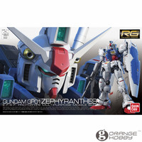 OHS Bandai RG 12 1/144 RX 78 GP01 Zephyranthes Gundam Mobile Suit Assembly Model Kits oh