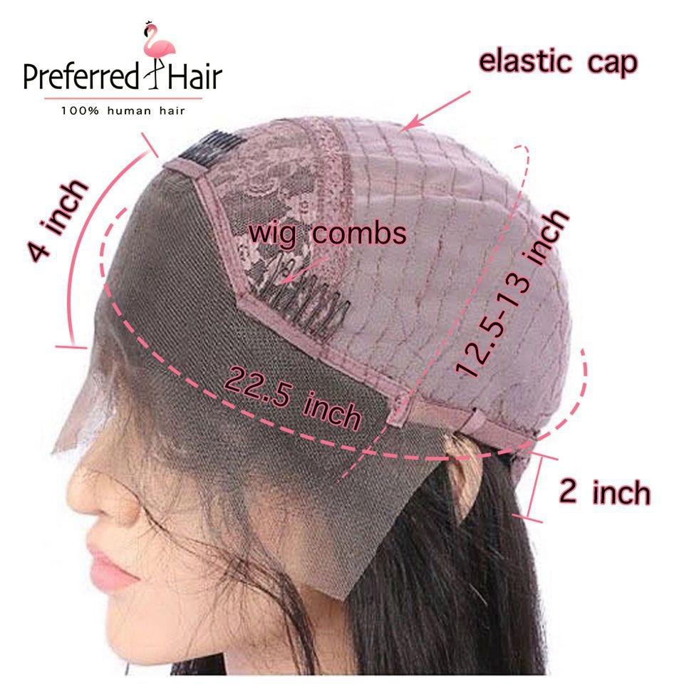 13.4 lace front wig caps