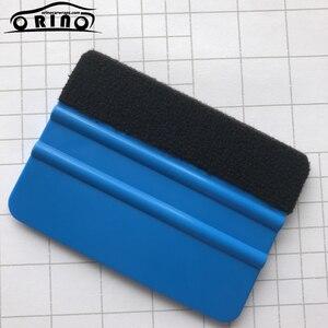 Image 5 - Filz Rakel Vinyl Auto Verpackung Werkzeug Carbon Faser Folie Vinyl Schaber Fenster Tönung Auto Glas Reinigung werkzeug Pinsel Hand Werkzeuge
