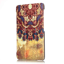 """Unique Design Painted Magnetic Smart Cover For Huawei MediaPad T2 7.0 Pro ( PLE-703L) 7"""" Tablet Cases Cover For Huawei 7 inch"""