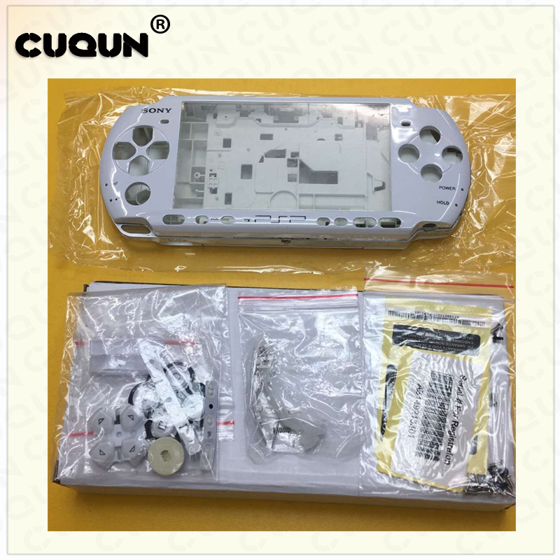 Promotion!Case For Sony PSP3000 PSP 3000 Shell Old Version Game Console Replacement Full housing Case With Buttons Kit
