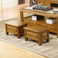 Новый 100% деревянные табуретки детские табуреты камфорные деревянные бытовые низкие табуреты ног стул мебель для гостиной японская мебель