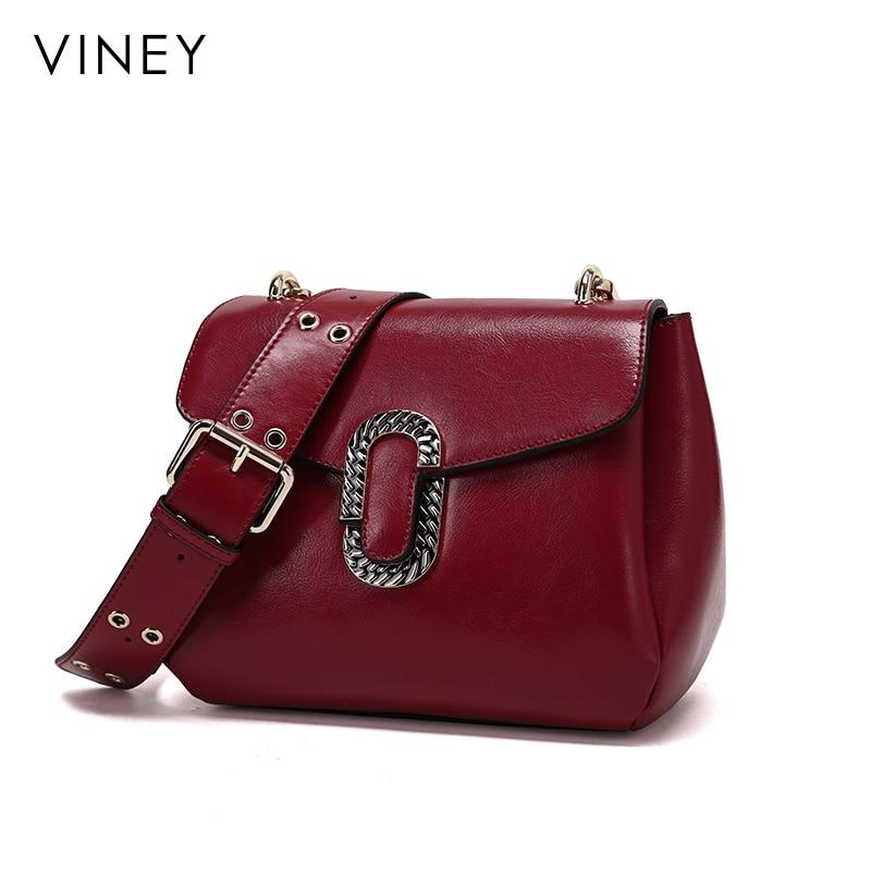 Viney Baggage Girl 2019 New Genuine Leather Baggage Girl Baggage