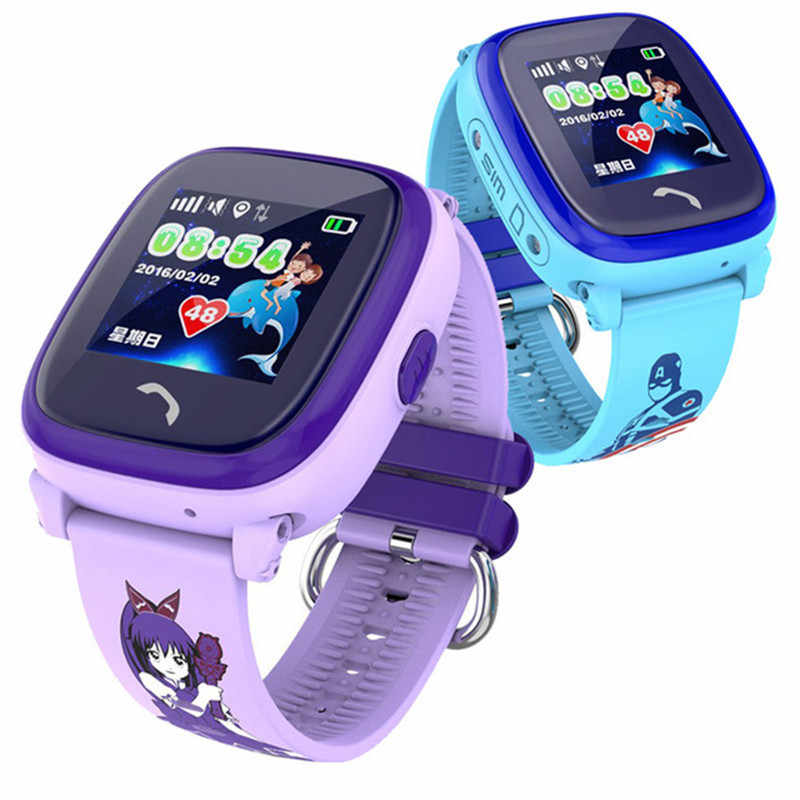 Smart Watch Waterproof GPS Kids Watch Clock SOS Call Location Device Tracker Children Safe Anti-Lost Monitor pk Q50 Q90 Q60