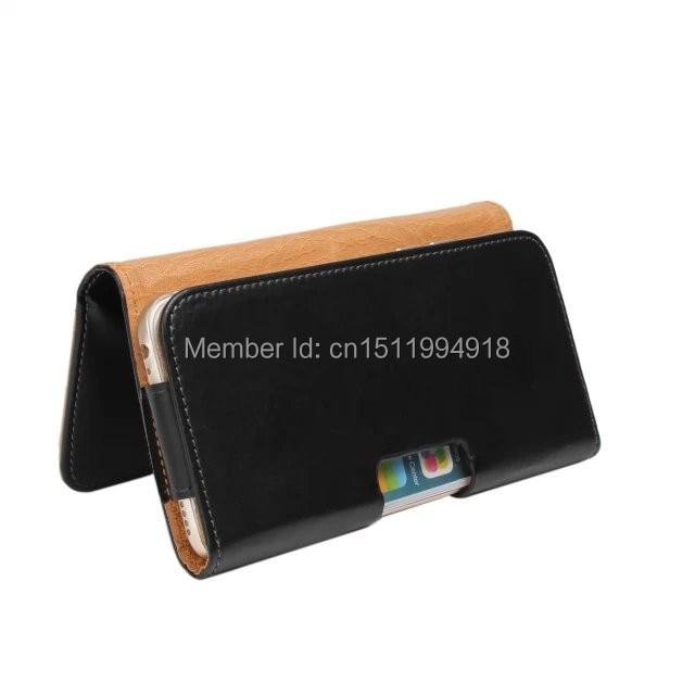 1 PCS Mode PU Kulit Belt Clip Kulit Pocuh Tutup Kasus untuk iPhone 6 - Aksesori dan suku cadang ponsel - Foto 3