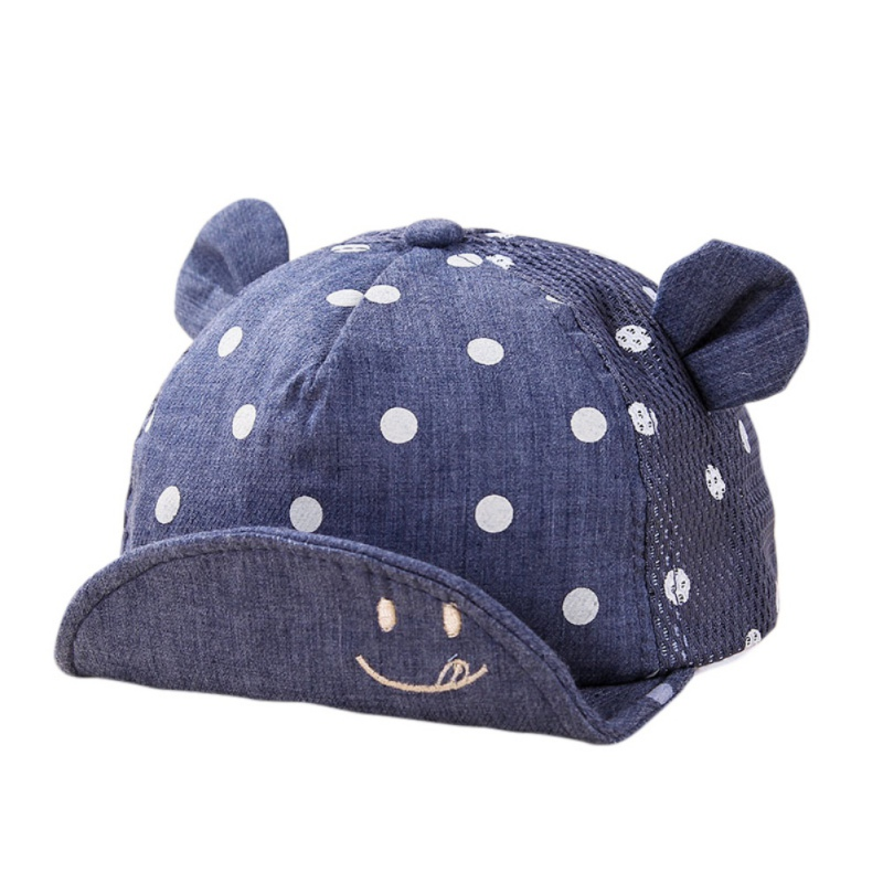 Śliczne kropki Little Ear Hat Kids Cap Noworodek Toddler Girl Boy - Odzież dla niemowląt - Zdjęcie 6