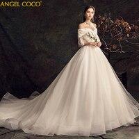 Беременность материнство, свадебные платья плюс размеры Vestido De Noiva невесты для беременных свадебные платья 100 см Длинный Шлейф Свадебное пла