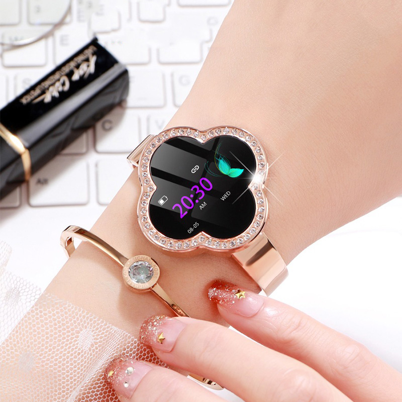 Women Smart Watch S6 Smart Bracelet Reloj Blood Pressure Heart Rate Monitor Fitness Tracker Sport Wristband For Android iOS Lady