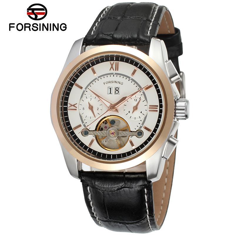 FORSINING Luxury Top Brand Men Mechanical Wristwatches Automatic Self-hand Mens Watch Clock Gifts Relogio Masculino 2019 New FORSINING Luxury Top Brand Men Mechanical Wristwatches Automatic Self-hand Mens Watch Clock Gifts Relogio Masculino 2019 New