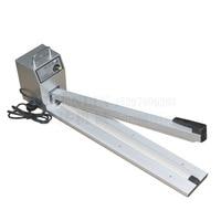 Hand Impluse Sealer 600MM Sealing Length Heat Sealing Bag Machine manual sealing machine enlarge sealer SF600 110V/220V 60/50HZ