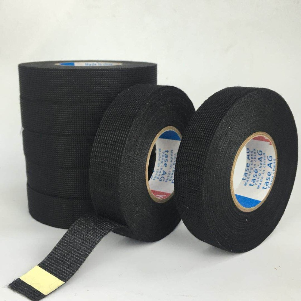 yc new 5rolls lot 19mmx15m tesa coroplast adhesive cloth tape for cable harness wiring loom [ 1000 x 1000 Pixel ]