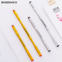 0.5mm Retractable Decompression Rotary Pen Black Ink Album Gel Pen Stationery Office Learning Cute Pen Unisex Pen Gift for Kids
