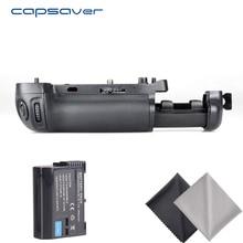 Capsaver Vertical Punho de Bateria com 1 pc Câmera EN-EL15 Bateria para NIKON D750 como MB-D16 Handgrip Pacote Titular Conjunto de Bateria
