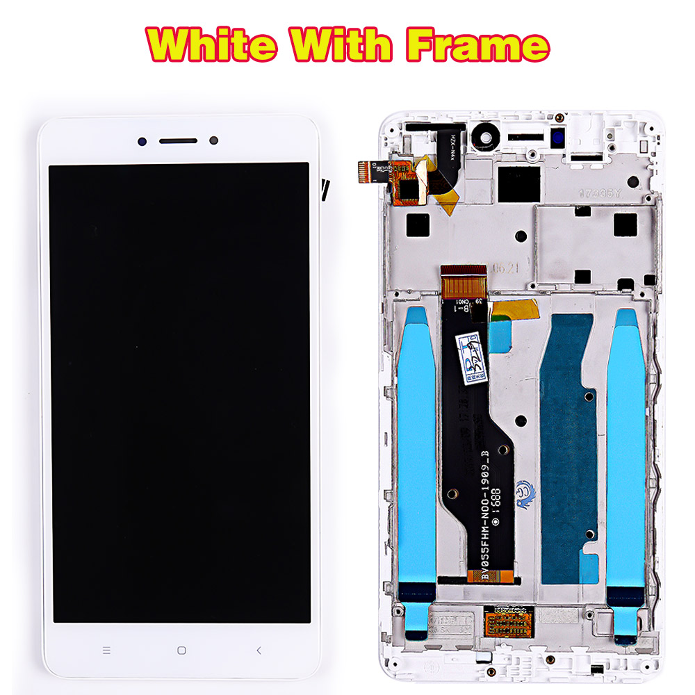 HTB1SQX6PpzqK1RjSZFvq6AB7VXaS LCD display For Xiaomi Redmi Note 4X / Note 4 Global (CPU:Snapdragon 625) touch screen digitizer assembly Frame 10 Multi-Touch