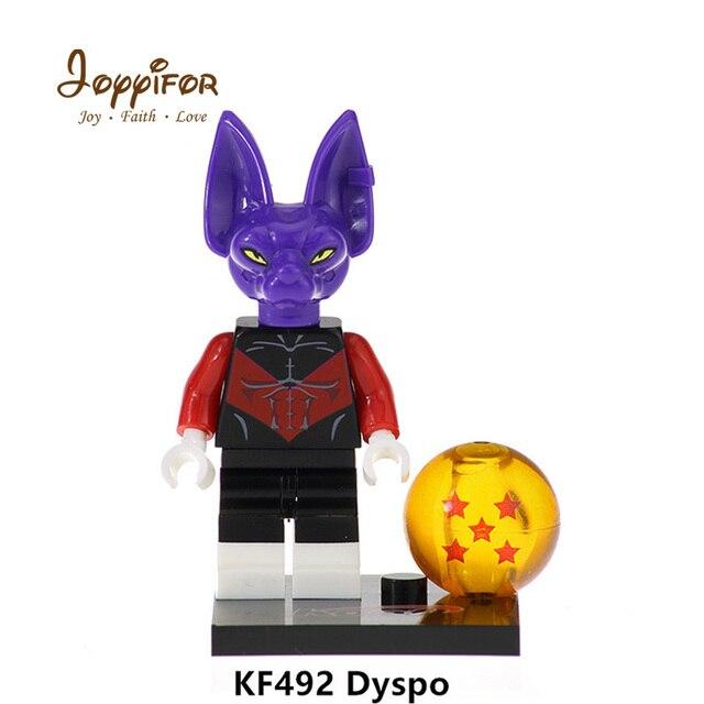 Joyyifor Hot Dragon Ball Z Son Goku Vegeta Android 17 Jiren Dyspo Building Blocks Bricks Action Figures Children Kids Toys Gift Blocks Aliexpress