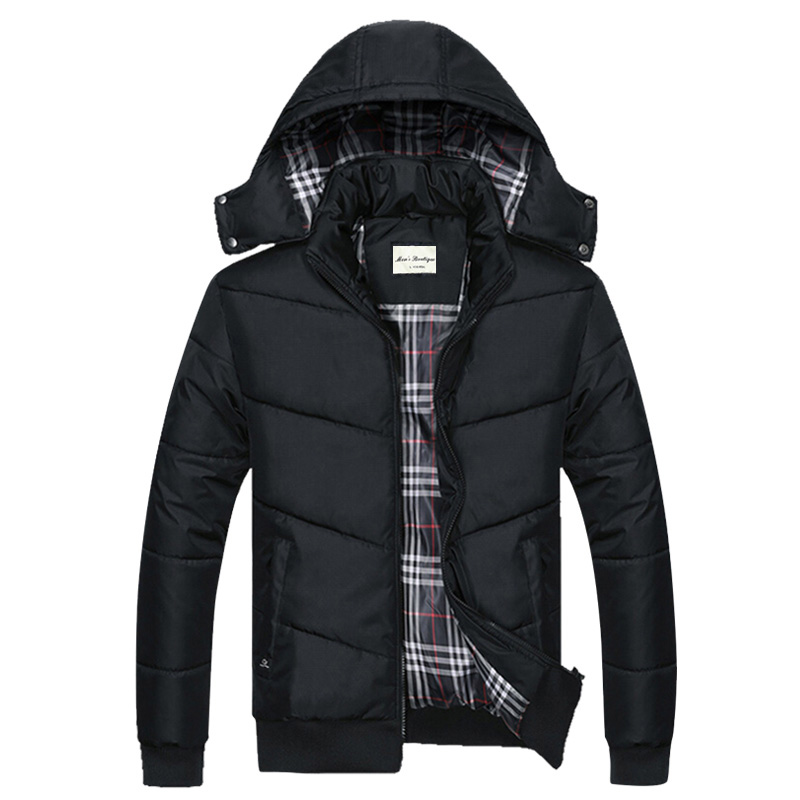 new winter 2017 youth winter cotton-padded clothes men coat with thick cotton-padded jacket  M-5XL free shipping the new winter 2016 men down jacket brand men s 90% feather coat more men with thick cotton padded jacket m xxxl