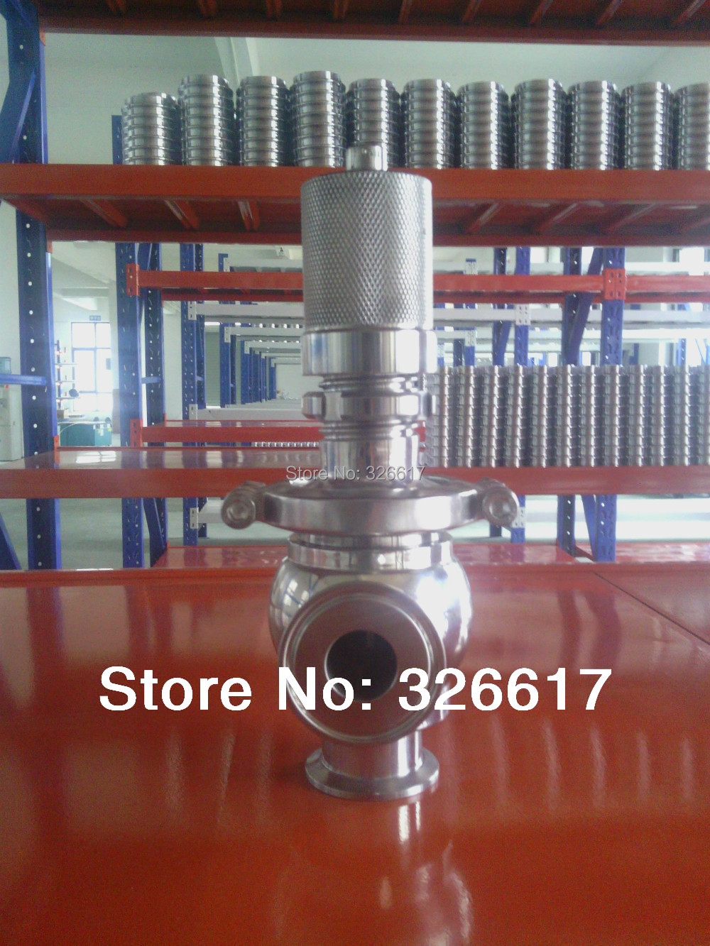 где купить Sanitary 11/2inch Tri Clamp Safety Valve SS304 Stainless Steel Pipeline Air Release Valve по лучшей цене
