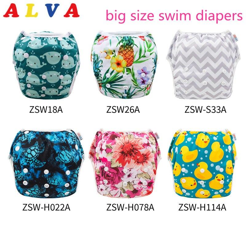 U Pick Alvababy популярный купальный костюм, классные пеленки для плавания большого размера