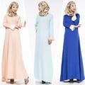Moda Vestido Abaya Muçulmano Roupas Femininas Islâmico de Alta Qualidade Muçulmano Abaya Dubai Kaftan Vestido Longo JZ2424