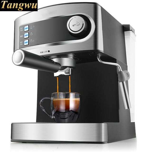 High End Of The Pressure Coffee Machine 15bar Full Semiautomatic Steam Beating Milk For