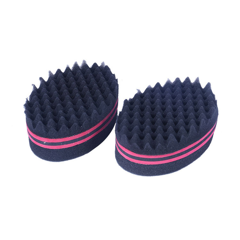 New Fashion Black Hair Braider Twist Sponge Afro Dreadlocks Curly Brush Sponge Hair Style Braiders Tool 14.5cm 1 Piece