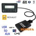 Yatour Car Digital CD Music Changer USB MP3 AUX adapter  For Renault Siemens VDO Dayton 8-pin yt-m06
