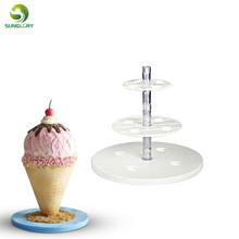 Tiers And Spheres Cake Frame Kit Anti-Gravity To Make Easy Multi Tiered Cakes Wedding Decoration Stand Baking Tool